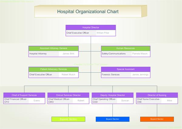 Sample Chart Templates » Interactive Organizational Chart Template ...