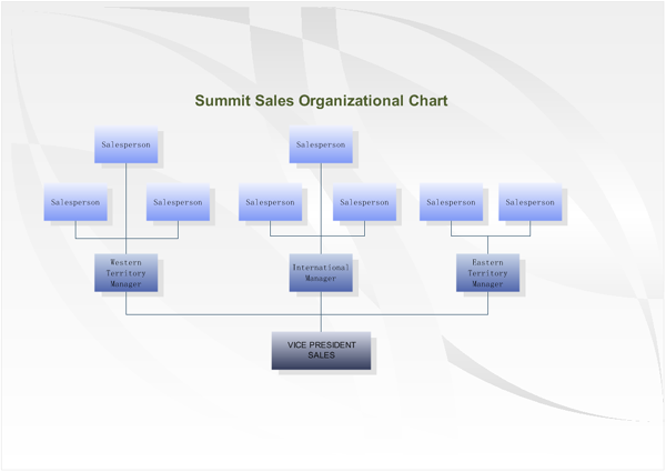 Summit Sales Organizational Charts