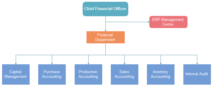 Corporation Org Chart Finance