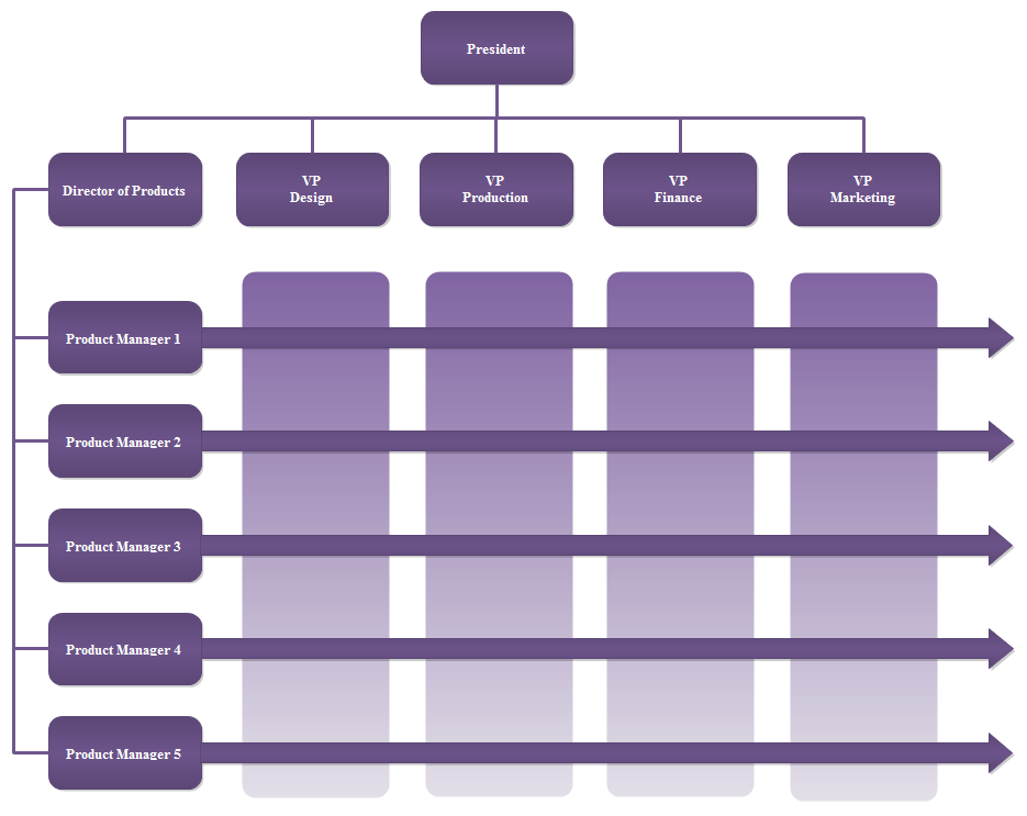 organization flow chart template