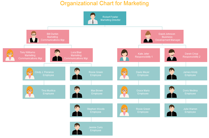 Differences Between Vertical and Horizontal Org Chart