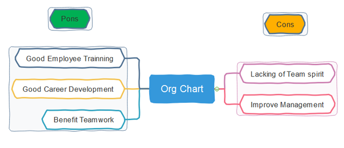 Functional Org Chart Definition Pons And Cons Org Charting