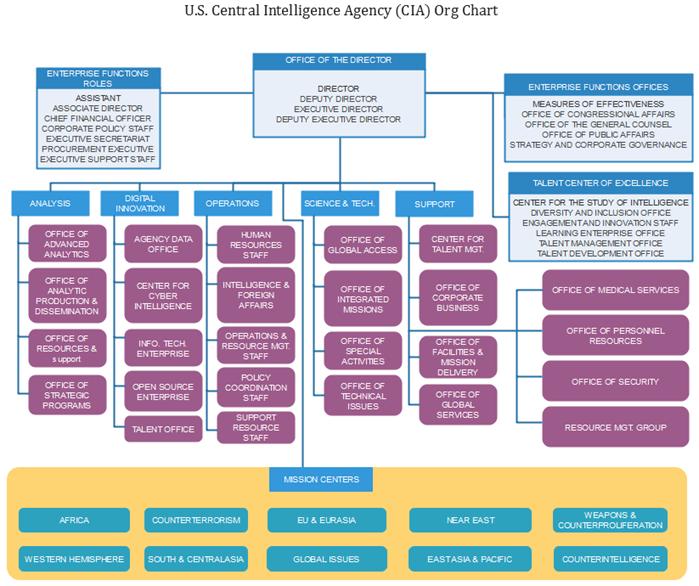 cia org chart