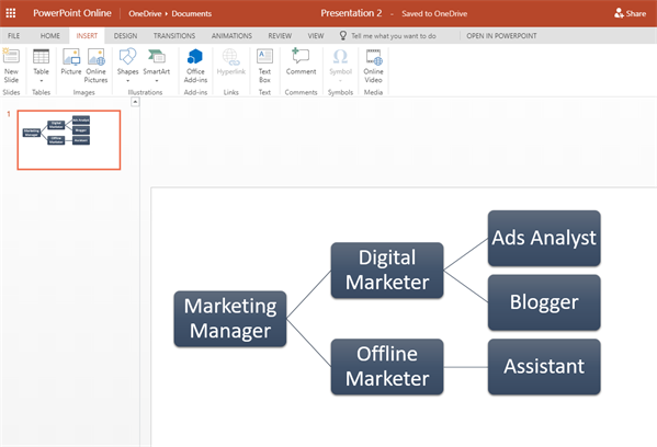 Create an Org Chart in PowerPoint