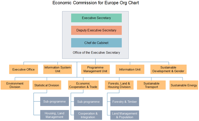 UNECE Org Chart