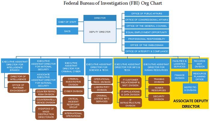 fbi org chart example