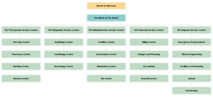 Public Service Org Chart Template