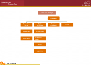 Hospitality Food Beverage Service Organizational Chart