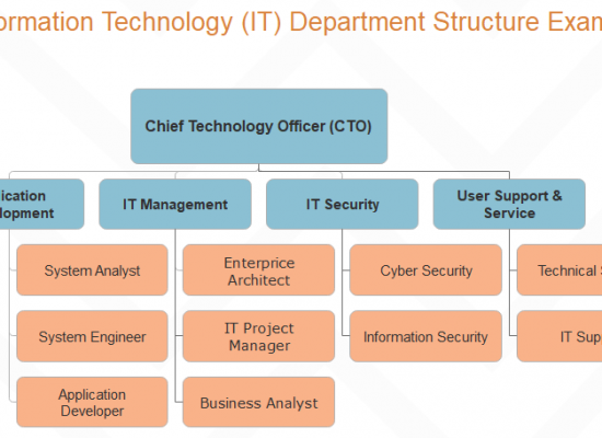 it department structure