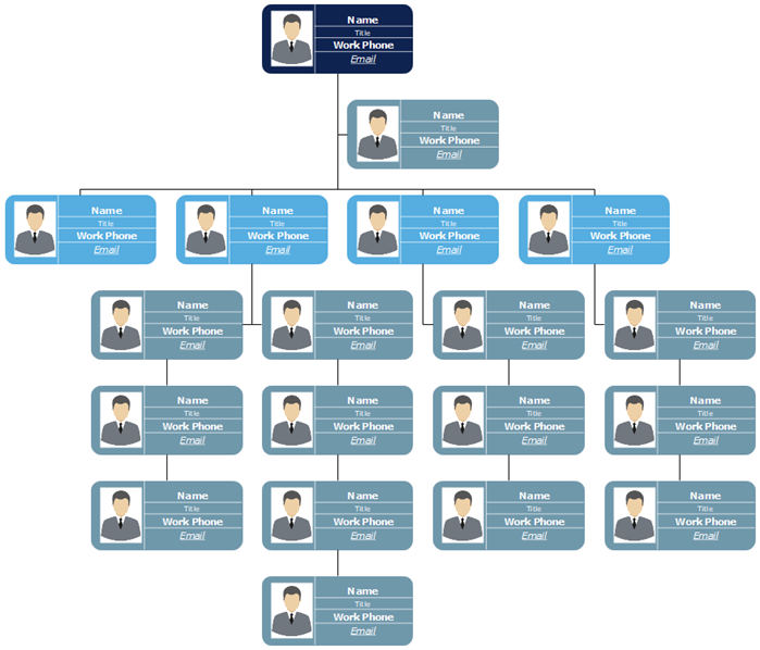 Corporate Org Chart with Photos