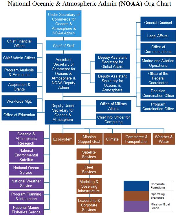 noaa org chart