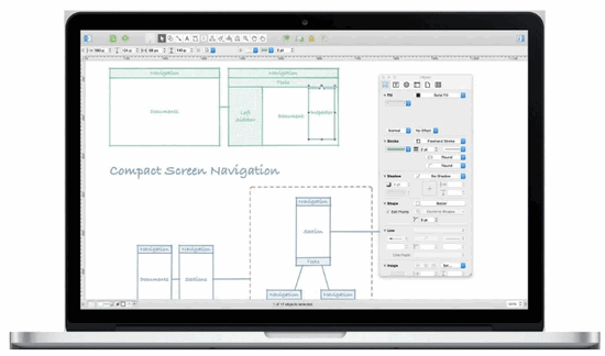 OmniGraffle mac org chart software