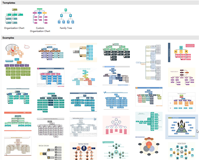 Visio Organogram Alternative templates and examples