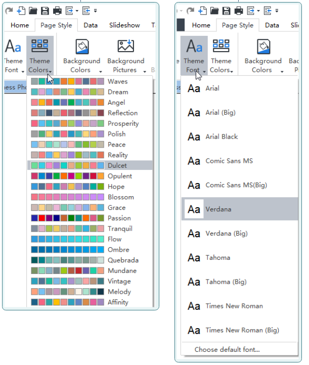 How to Change Your Org Chart Theme Font and Theme Color