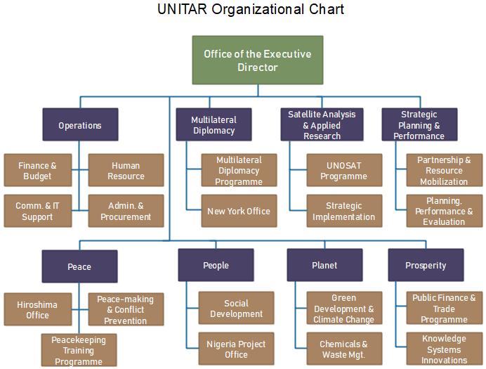 unitar org chart